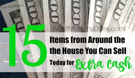 Things You Can Sell Online To Make Money - 15 things you can sell to make money fast all items from around the house what
