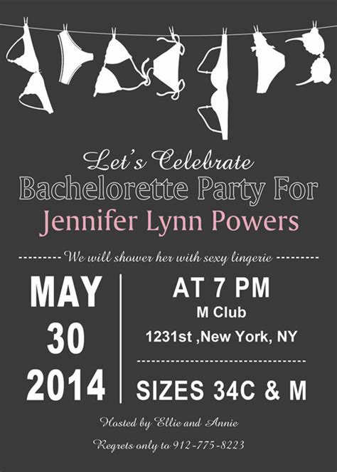 Come With Me Bachelorette Invites by Bachelorette Invitations Inexpensive Bachelorette