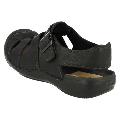 closed toe leather sandals mens clarks closed toe leather sandals edge ebay