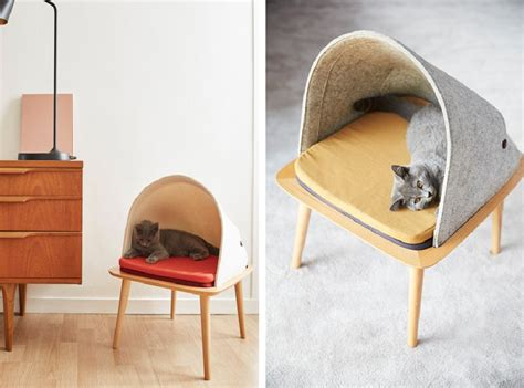 stylish cat furniture stylish cat beds and cocoons for the discerning pet