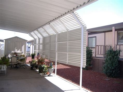 mobile home awning supports mobile home carport mobile home awnings superior awning