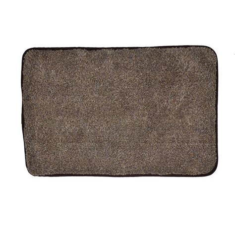 trek n clean brown 20 in x 30 in door mat afm600 bt