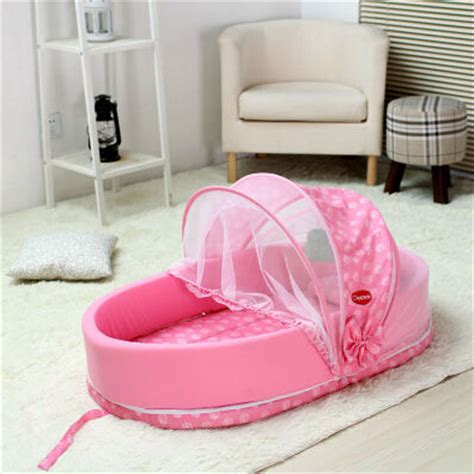 Folding Baby Bed Multifunctional Folding Baby Bed Fashion Bed Portable Baby Travel Bed Cradle Moises Para Bebe