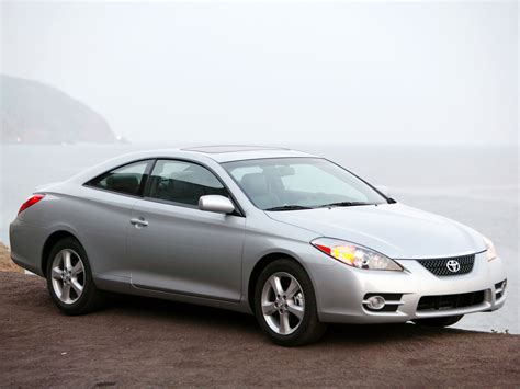 Toyota Camry Coupe Toyota Camry Solara Coupe Facelift 2006 Toyota Camry