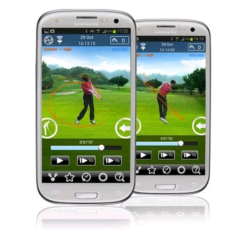 3bays golf swing analyzer 3bays gsa pro golf swing analyzer for android black 特別