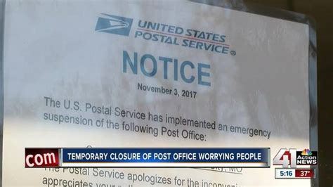 closed brookside post office problem for customers kshb