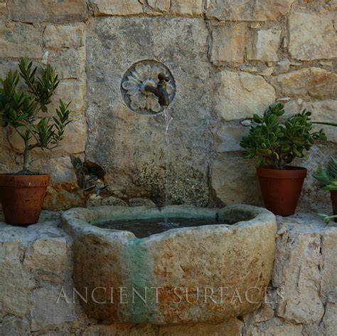 Garden Wall Features From France With Love A Collection Of Our Antique
