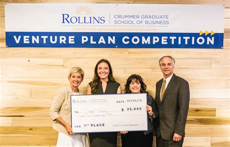 Rollins College Executive Mba by Crummer Venture Plan Competition I4 Business Magazine
