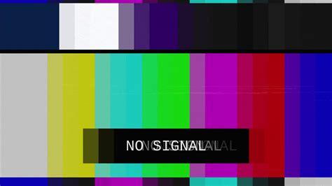 tv colors smpte color bars tv no signal distorted tv transmission