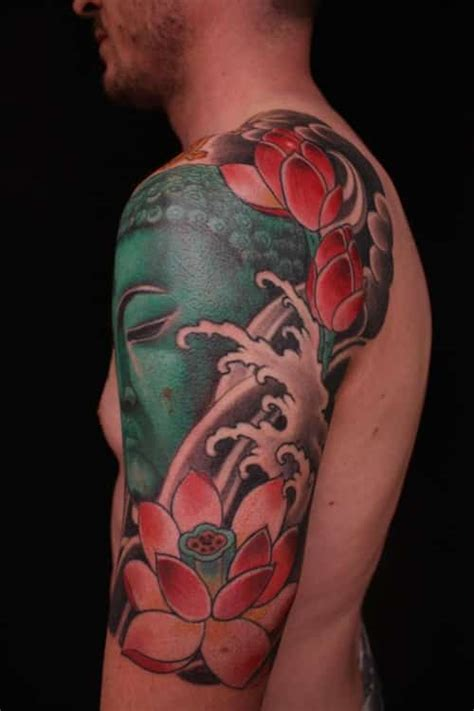 floral tattoos for men lotus flower tattoos for ideas and inspiration for guys