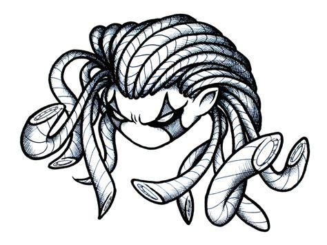 doodle medusa medusa robo kid doodle by aphaits on deviantart