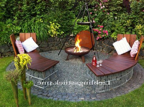 einfache feuerstelle im garten grillplatz im garten selber bauen kche feuerstelle