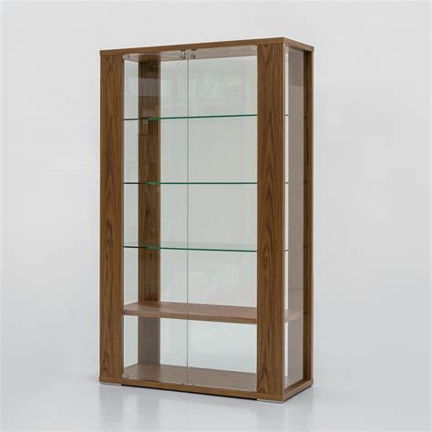 Vitrine Aus Glas 6252 vitrine tonin casa aus glas und holz in