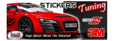 Sticker Tuning Car by Stickers Tuning Look D Enfer Pour Pas Cher