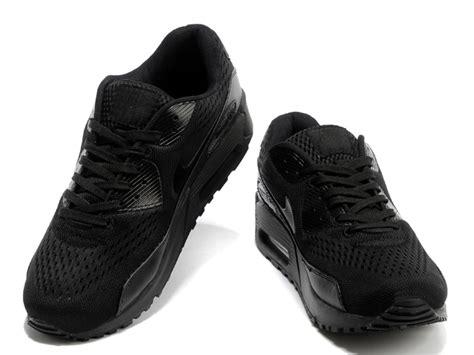 cheap nike air max 90 em all black shoes for cheap