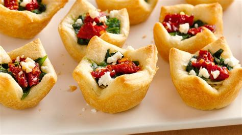 christmas appetizers 18 best bite sized apps from pillsbury com