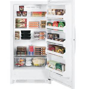 Oven Cabinet Clearance Fuf17svrww Ge 174 16 7 Cu Ft Frost Free Upright Freezer