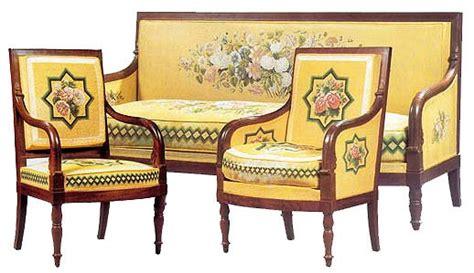 Chaise De Bureau 1815 by Style Empire