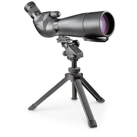 table top tripod for spotting scope barska 25 125x88mm waterproof spotting scope 163975