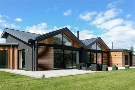 contemporary bungalows contemporary disability bungalow in harrogate with cedar