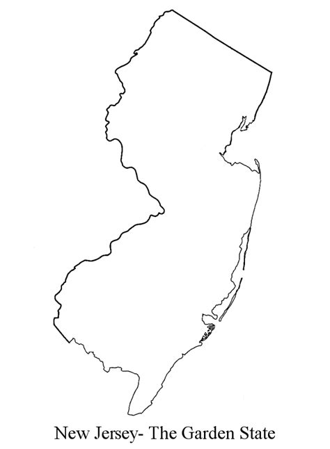 new jersey state colors simple new jersey outline search cooler ideasss