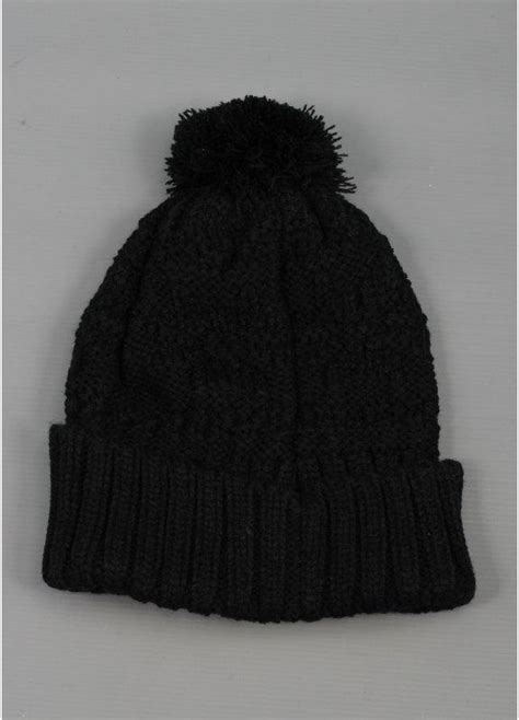 cable knit pom pom hat nike cable knit pom pom hat black