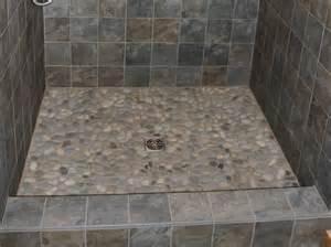 Bathroom Floor Designs Pebble Shower Floor Home Ideas And Decor Pinterest