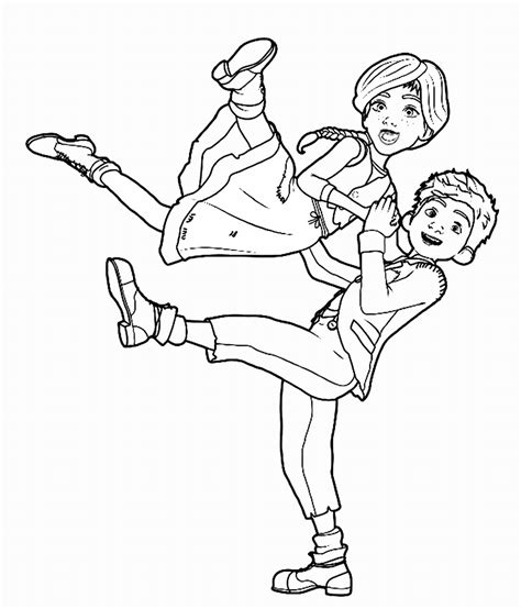 coloring page of a leap frog leap movie coloring page dancing