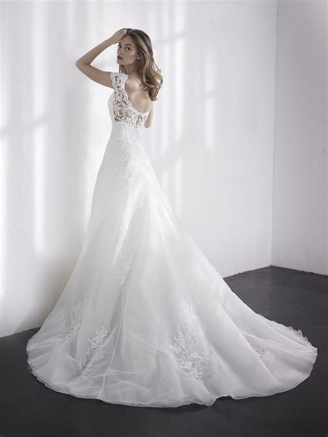 wedding dress rubber st wonderfull lilien style floor length a line lace bridal
