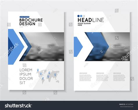 business catalog template business brochure design annual report vector stock vector