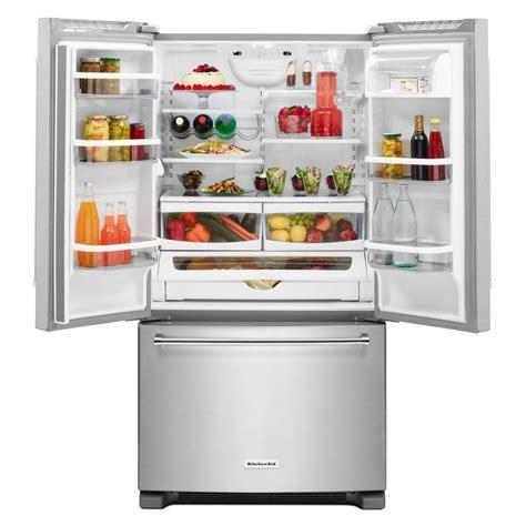 Kitchenaid Fridge Cold 25 2cu Kitchenaid Door Trio Refrigerator