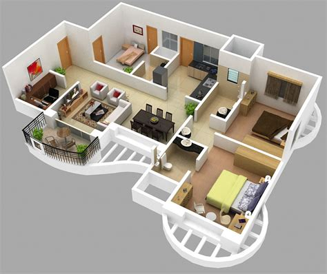 emejing 2 bhk home design photos amazing house 15 dreamy floor plan ideas you wish you lived in