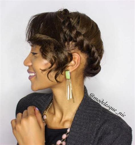 twist hair styles to cover bangs 45 easy and showy protective hairstyles for natural hair