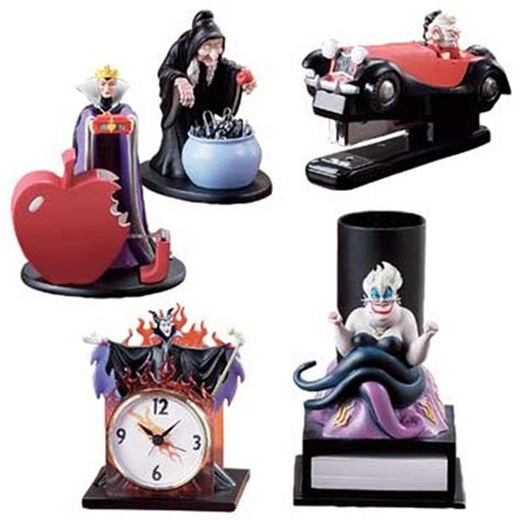 Disney Desk Accessories Disney Villain Limited Edition Desk Set 5 Pc Disney Disney Villains And Desk Set
