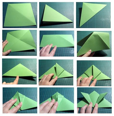 How Do You Make An Origami Frog - how to make a traditional origami jumping frog page 1