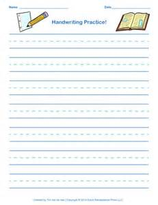 Blue Red Blue Writing Paper Free Handwriting Practice Paper For Kids Blank Pdf Templates