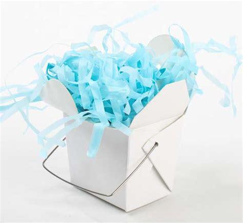 light blue paper gift bags 1 25oz light blue paper shred basket filler gift bags