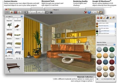 free home design software with material list new room 3d software program interior design