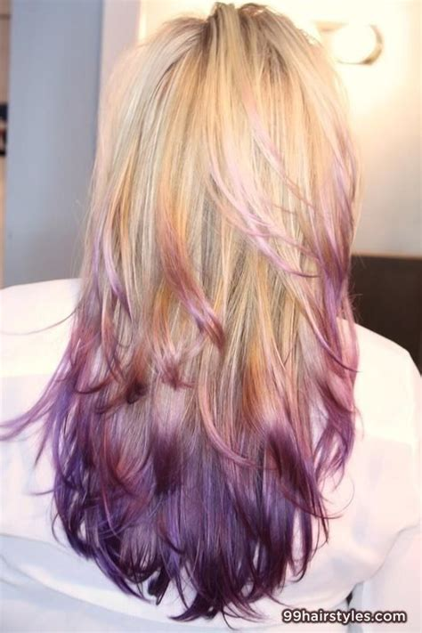 hairstyles blonde and purple 25 best images about hair cut color style on pinterest