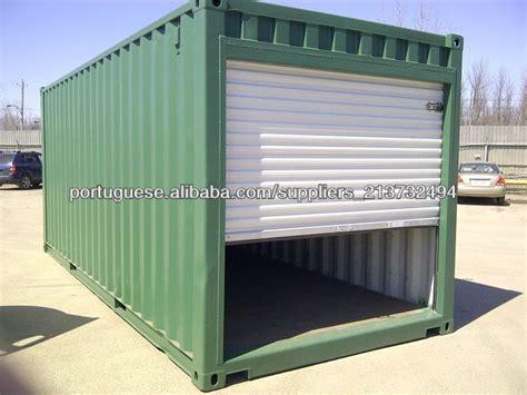 container als garage telhado plano garagem container casas pr 233 fabricadas id do