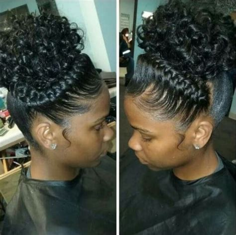 cute hairstyles puff amazing cute braided hairstyles for black girls with high