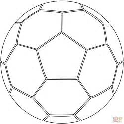 soccer ball coloring page free printable coloring pages