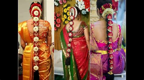 Bridal Hairstyles For Medium Hair South Indian by South Indian Bridal Hairstyles For Medium Hair Www