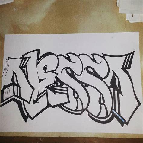 imagenes de jesus graffiti creando dibujando nombre graffiti alessa alessandra