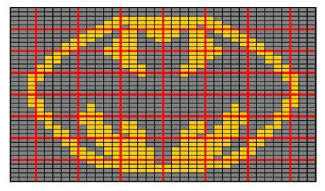 batman knitting chart ravelry batman intarsia chart pattern by hobbs