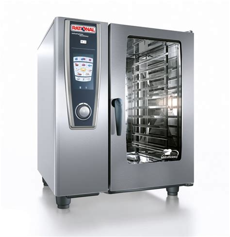 Oven Quantum catering equipment rational s new whitefficiency selfcooking center combi steamer callum