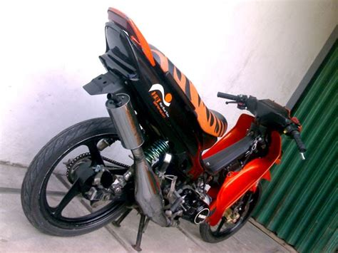 Knalpot Creie Honda Blade Revo Supra 125 Knalpot 4t Oval modifikasi motor f1z r gambar yamaha 1 gambar foto