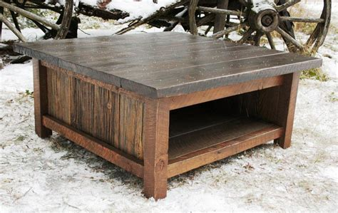Build Square Rustic Coffee Table New Lighting Chic Build A Rustic Coffee Table