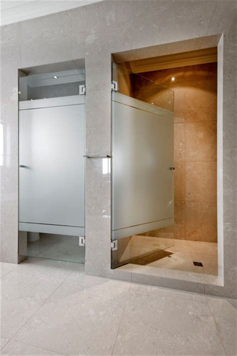 To Da Loos Partially Frosted Glass Showers Frosted Glass Shower Door