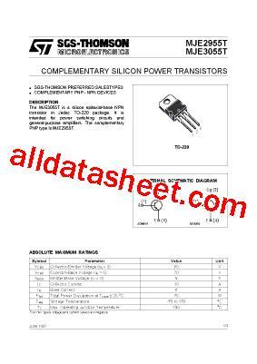 datasheet transistor st 2n3055 datasheet transistor st 2n3055 28 images 2n3055 datasheet npn transistor for power switching